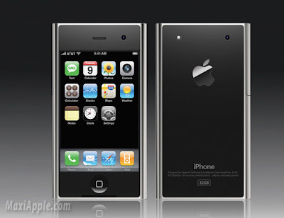 iphone concept 1 iPhone 3 : 10 Excellents Concepts (images)