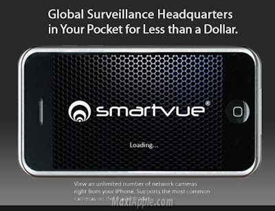 smartvue iphone 1 SmartVue iPhone : Videosurveillance Pro (images)