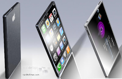 Iphone Unibody Mockup iPhone 4G : Black Alu (image)
