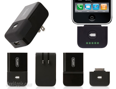 griffin PowerBlock iphone 3 Griffin PowerBlock Reserve : Batterie iPhone de Poche