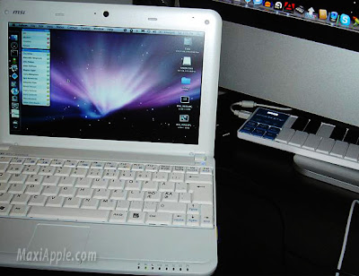 msi wind osx Psystar NetBook OSX   Bientot Dispo