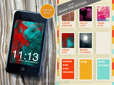 CandyClock iphone CandyClock iPhone : Horloge Video Lounge (gratuit)