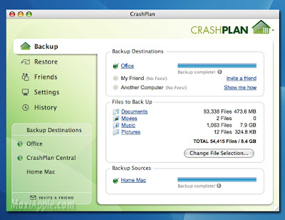 crashplan osx CrashPlan OSX : Stockage en Ligne Illimite (gratuit)