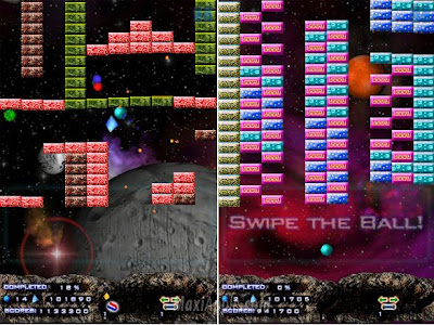Touch Breaker iphone Touch Breaker iPhone : Excellent Jeu Brickout (gratuit)