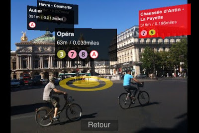 metro paris iphone 2 Metro Paris iPhone en Realite Augmentee Dispo (video)