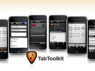 tabtoolkit iphone TabToolKit iPhone : Tablatures Guitare Pro (video)