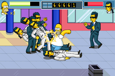 thesimpsonsarcade iphone 1 Simpsons Arcade iPhone : Jeu Disponible (video)