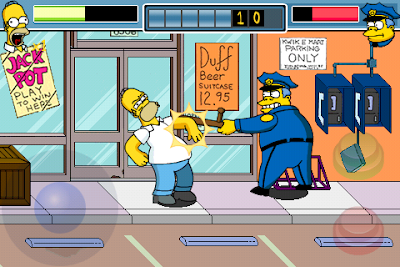 thesimpsonsarcade iphone 2 Simpsons Arcade iPhone : Jeu Disponible (video)