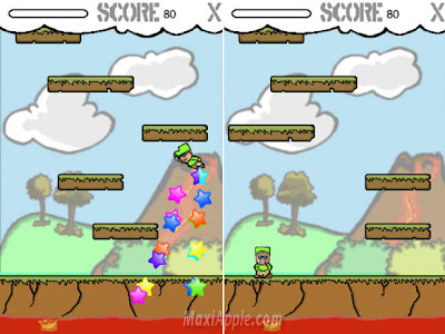 Jump Away Red iPhone iPod Touch Jump Away Red iPhone iPod Touch : Jeu dAdresse (gratuit)