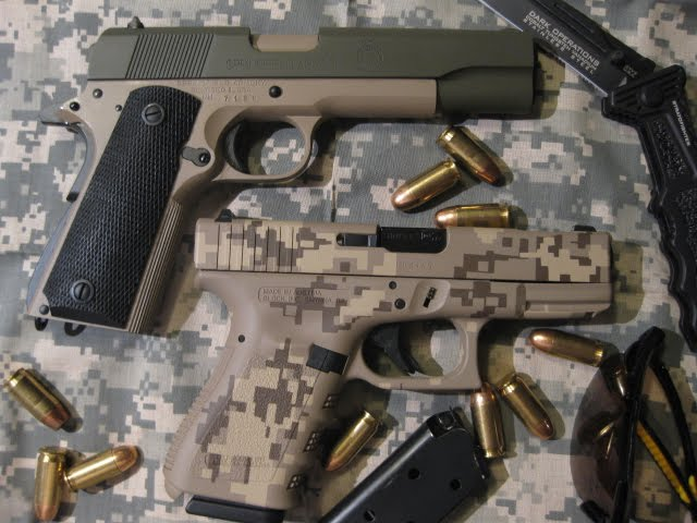 Digital Camo Glock