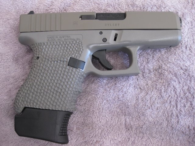 Glock 2-tone,grip enhancement,trigger jop