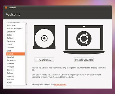 install 01 medium Gravação do CD, Criação do disco de Instalação USB e Instalação do Ubuntu