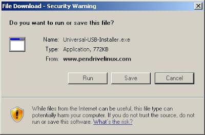 usb windows 01 medium Gravação do CD, Criação do disco de Instalação USB e Instalação do Ubuntu