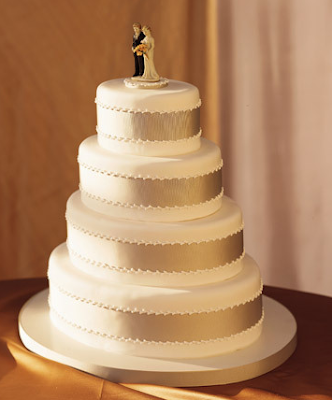 Tasty Delights Blush Champagne Inspired Wedding Cakes Confections