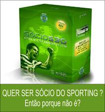 Quer ser sócio do Sporting?
