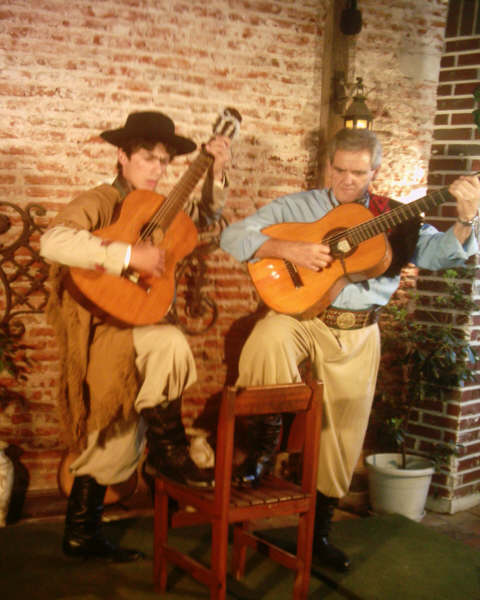 Payadores en la Televisin Uruguaya.