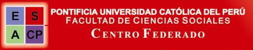 Centro Federado de Ciencias Sociales