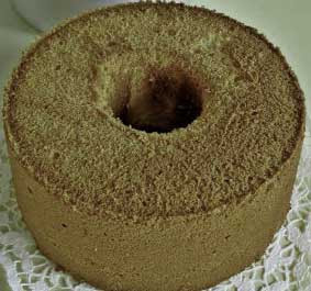 baked tube cake