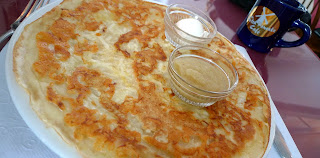cheese potato onion dutch pancake
