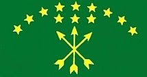 Circassian National Flag