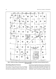 Brhectorsgeoworld a2 topographical survey mapspart 1 can give us a clue about the general physical relief of the region and its climate which can be confirmed by other information given in the map ccuart Image collections