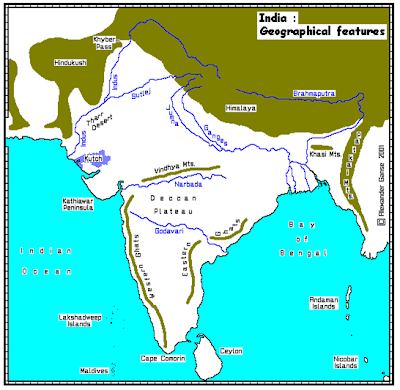 Icse resource provider physical features of south asiafocus on extends from kachchh in gujarat in the west to the gangetic delta in the east coast of india is divided into western coastal plain and eastern coastal thecheapjerseys Image collections