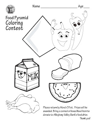 food drive Colouring Pages