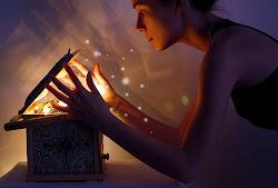 Guardando os sonhos dentro de uma caixinha