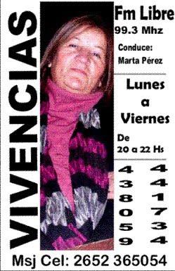 VIVENCIAS X FM LIBRE