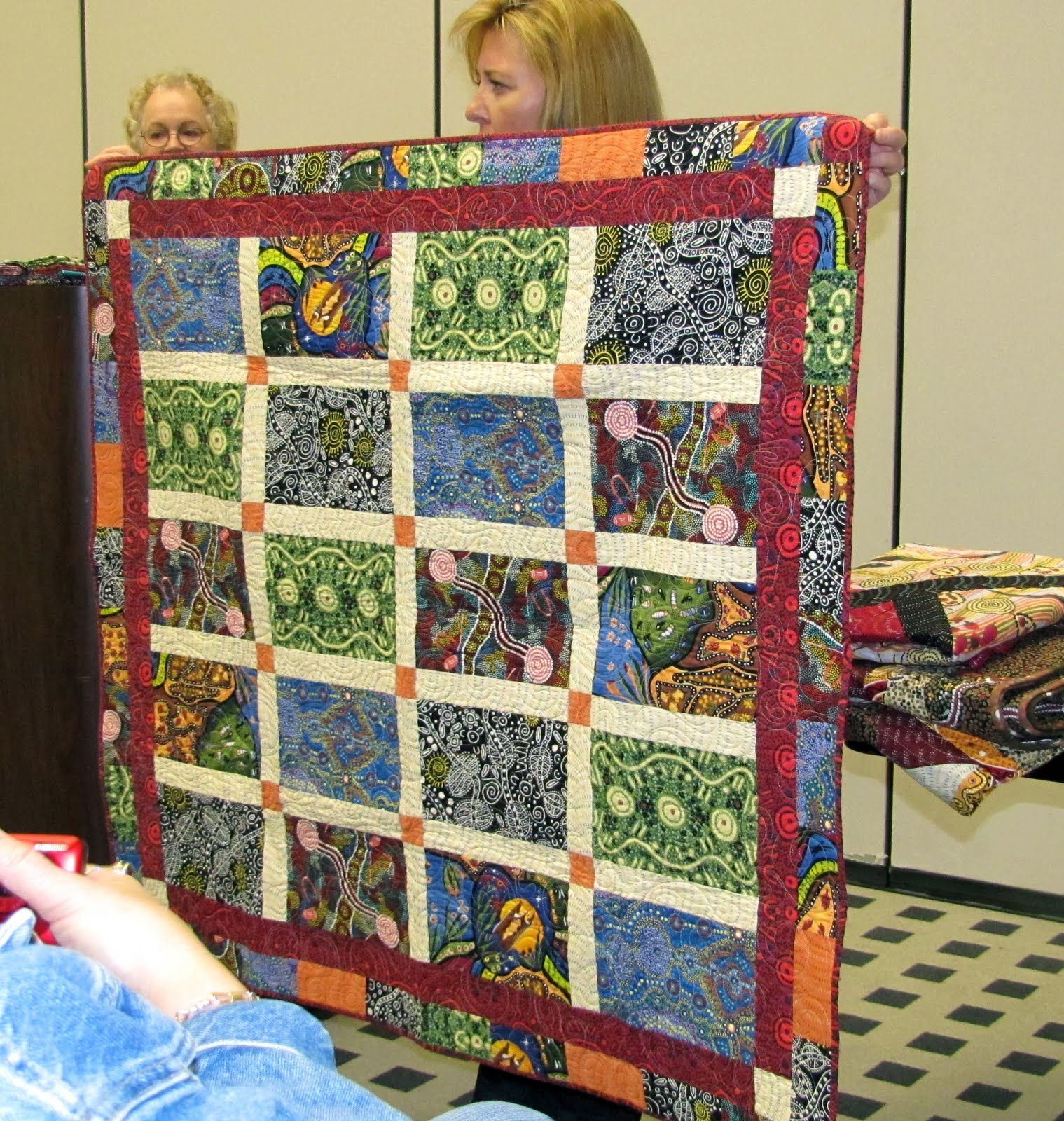 material and quick stack girls quilts tutorial quilt slash