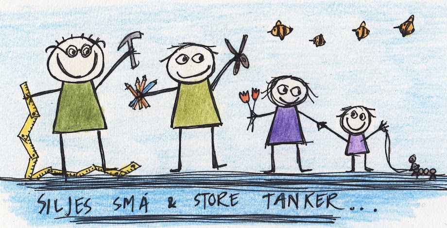 Siljes sm og store tanker