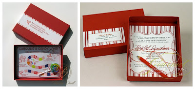 redboxes boxed invitations celebrations at home,Boxed Bridal Shower Invitations