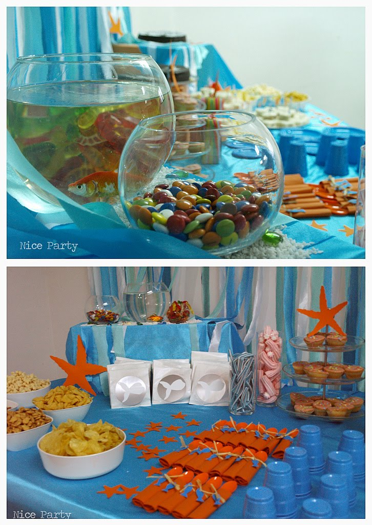 Under the sea graphics crafts and party ideas on pinterest under the sea digital papers and - Th party theme ideas ...