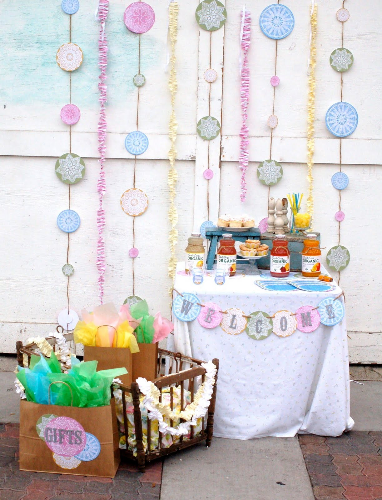 Vintage Goes Modern {guest feature} - Celebrations at Home