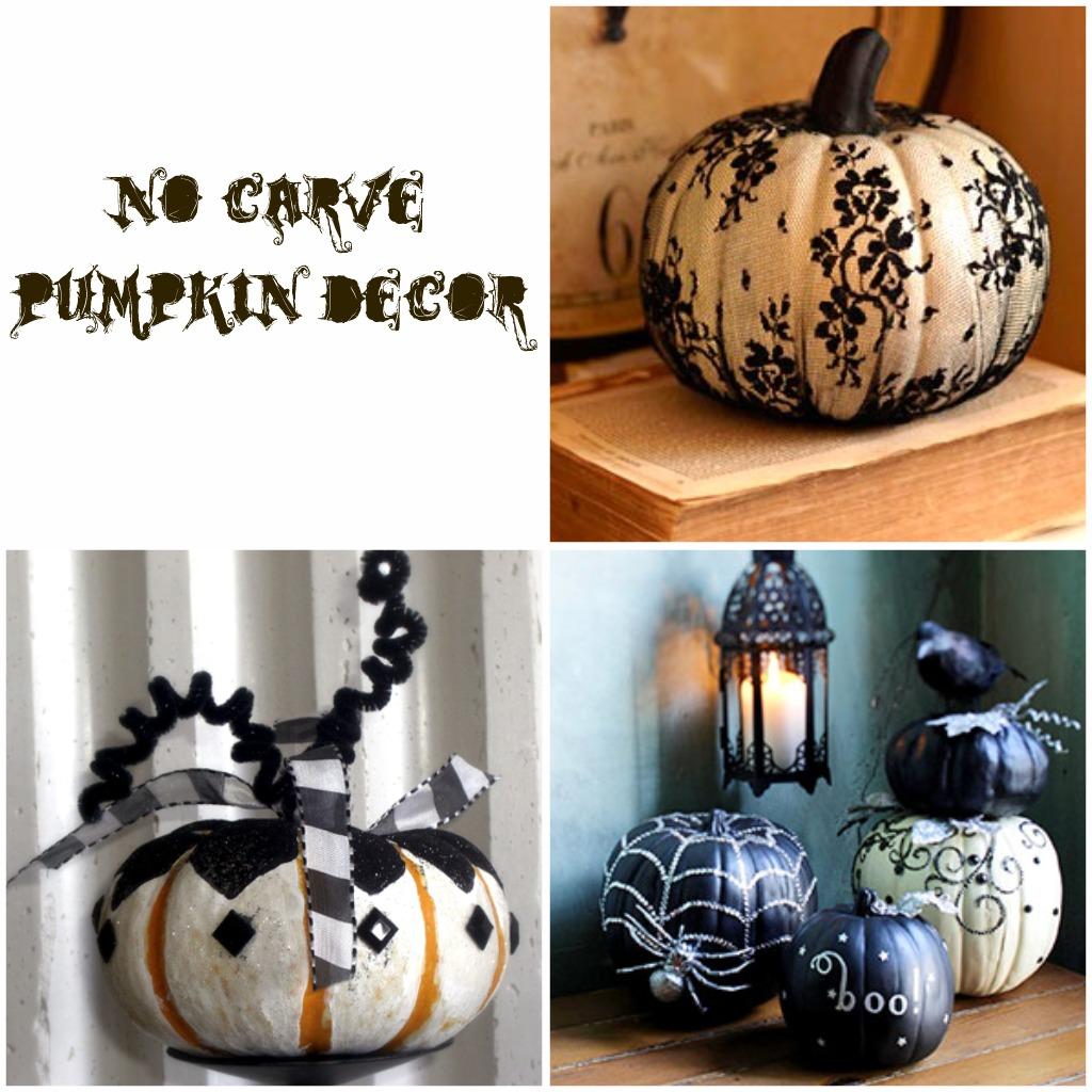 Creative diy no carve pumpkin designs for halloween gallery