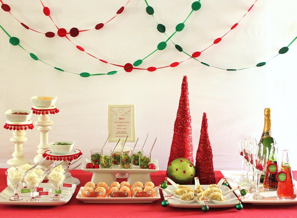 Modern Christmas Cocktail Party