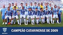Campeão Catarinense 2009