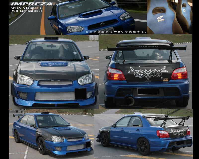 Brunei Subaru Club: Subaru Ver.8 Spec C - WR Limited - One n only in ...