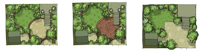 McQue Gardens Sketchup Photoshop using for design