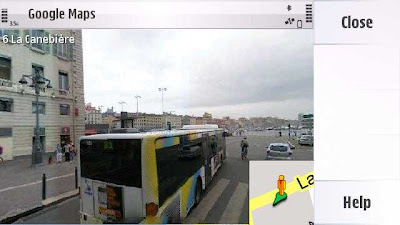 Google Maps Nokia 5233 Application