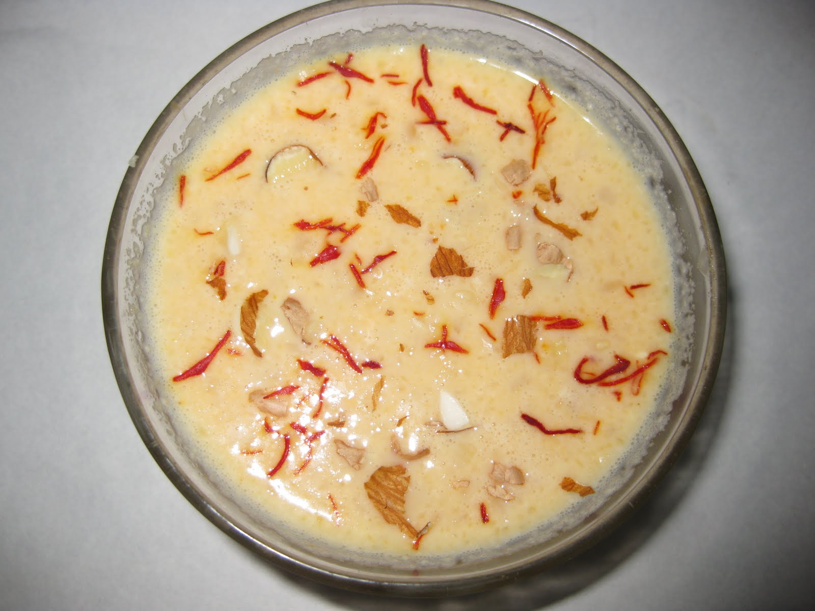 ... dry fruits. This smooth and wholesome creamy dessert is made during