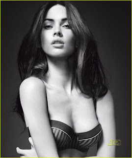Megan Fox Sizzles in Armani Underwear Shoot1