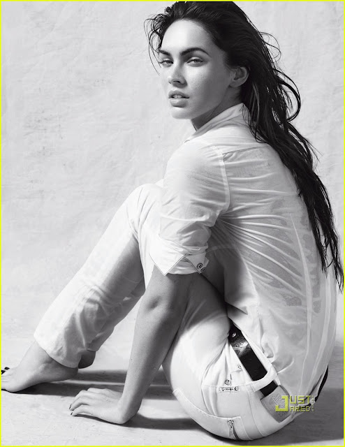 Megan Fox Sizzles in Armani Underwear Shoot4