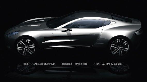 Aston Martin One 77: $1500000