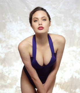 angelina jolie strips