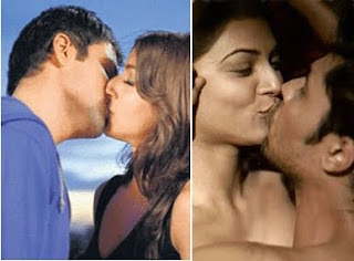 hot bollywood kisses of 2009