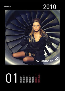 sexy windrose stewardess calendar 2