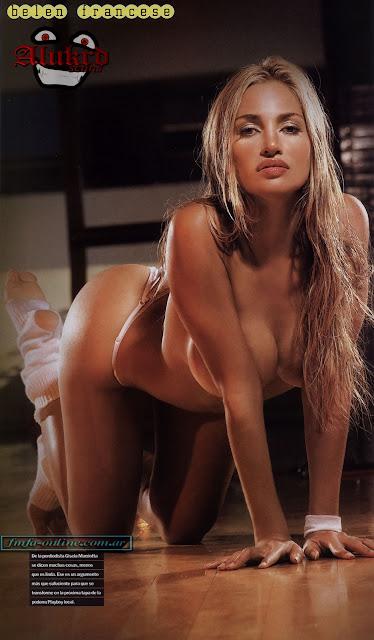 belen francese naked in maxim