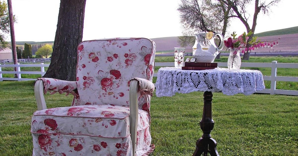 Farmhouse accessories slip covered rocker for Spokane craigslist farm and garden