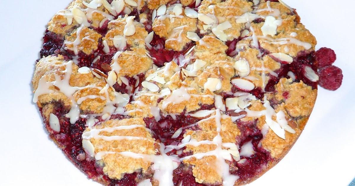 Boy Cheese Sandwich: Raspberry Almond Coffee Cake